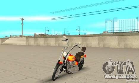 Harley Davidson softail Skin 2 pour GTA San Andreas