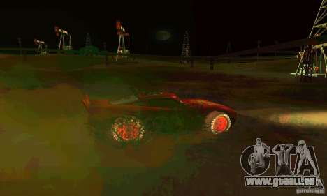 MCQUEEN from Cars für GTA San Andreas obere Ansicht