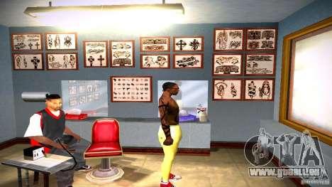 Drei neue Tätowierung für GTA San Andreas zwölften Screenshot