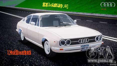 Audi 100 Coupe S pour GTA 4