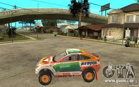 Mitsubishi Racing Lancer pour GTA San Andreas laissé vue