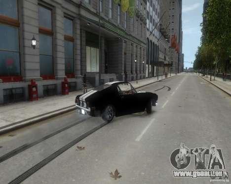 Ford Mustang Tokyo Drift für GTA 4 Innenansicht