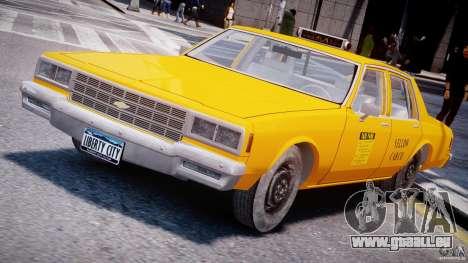 Chevrolet Impala Taxi 1983 [Final] pour GTA 4