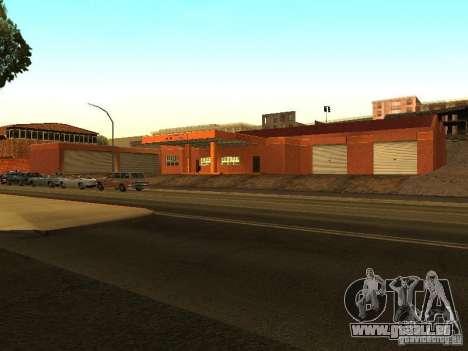 Neue Garage in Dorothy für GTA San Andreas