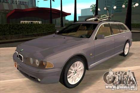 BMW 525 Touring V2 pour GTA San Andreas