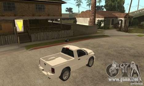 Dodge Ram SRT 10 für GTA San Andreas rechten Ansicht