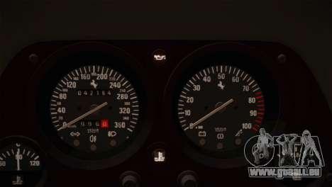 Ferrari F40 1987 für GTA San Andreas Innen