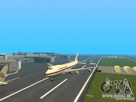 Boeing 747-100 Japan Airlines pour GTA San Andreas