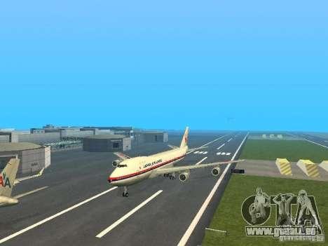 Boeing 747-100 Japan Airlines für GTA San Andreas