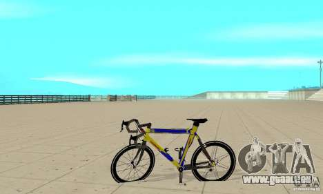 Racing Cycle Turmac Legnano pour GTA San Andreas