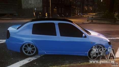 Renault Clio Tuning pour GTA 4 est une gauche