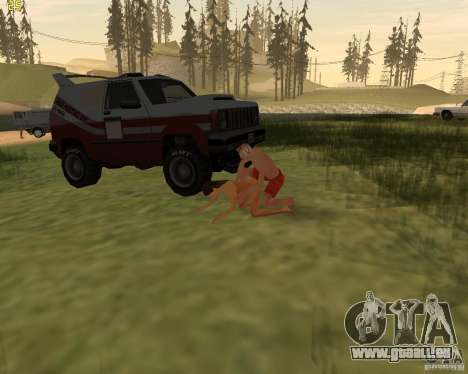 Partei auf die Natur für GTA San Andreas elften Screenshot