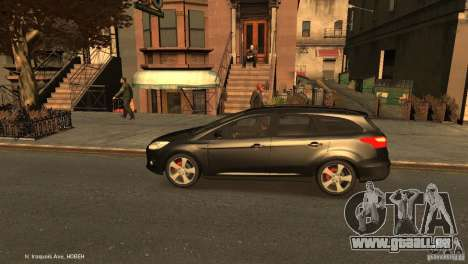 Ford Focus Universal Unmarked für GTA 4 linke Ansicht