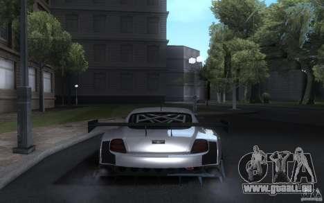 Bentley Continental Super Sport Tuning für GTA San Andreas Rückansicht