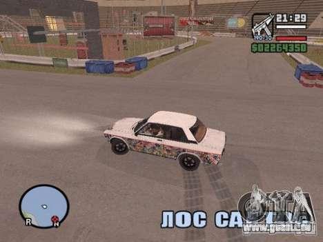 Hazyview pour GTA San Andreas troisième écran