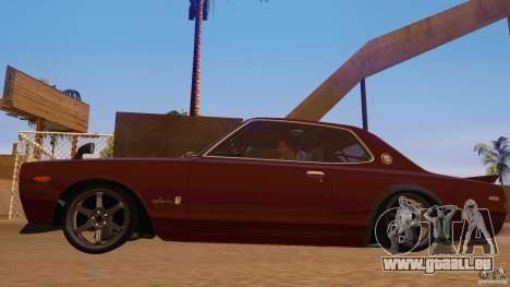 Nissan Skyline GT-R 2000 für GTA San Andreas zurück linke Ansicht