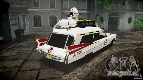 Cadillac Ghostbusters für GTA 4 Innenansicht