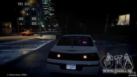 Chevrolet Impala Unmarked Police 2003 v1.0 [ELS] pour GTA 4