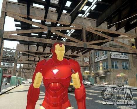 Iron Man Mk3 Suit pour GTA 4 troisième écran