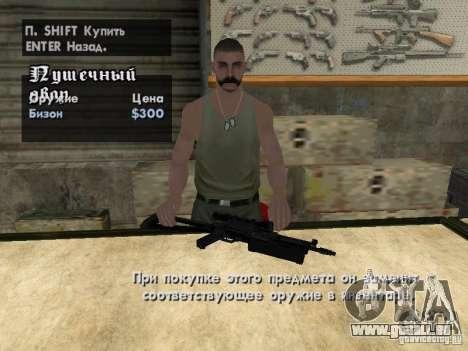 Pak-Inland-Waffen für GTA San Andreas fünften Screenshot