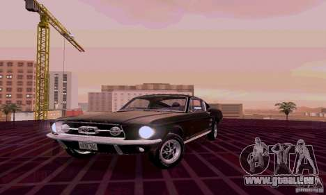Ford Mustang 1967 für GTA San Andreas