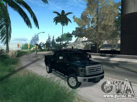 Ford F-150 2013 für GTA San Andreas Innenansicht