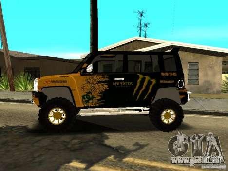Scion xB OffRoad pour GTA San Andreas laissé vue