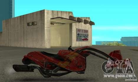 Neues Fahrrad aus Star Wars für GTA San Andreas linke Ansicht