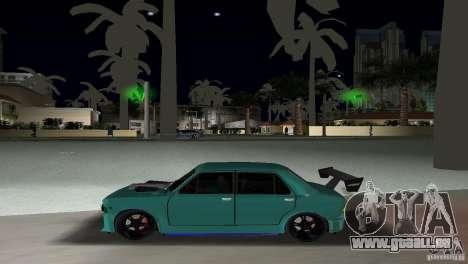 Zastava 110 GT pour GTA Vice City vue arrière