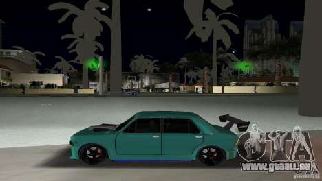 Zastava 110 GT für GTA Vice City Rückansicht