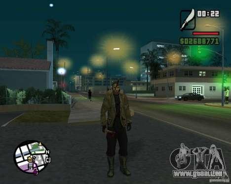 Jason Voorhees pour GTA San Andreas deuxième écran
