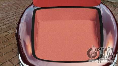 Mercedes-Benz 300 SL Roadster v1.0 pour GTA 4 vue de dessus