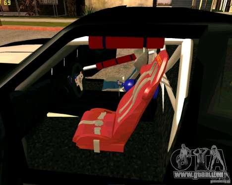 Hotring Racer Tuned für GTA San Andreas Innen