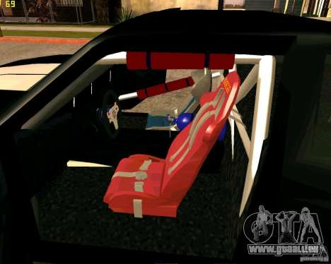 Hotring Racer Tuned pour GTA San Andreas salon