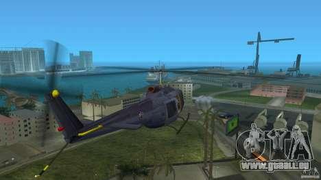 Maverick Bell-Huey für GTA Vice City zurück linke Ansicht