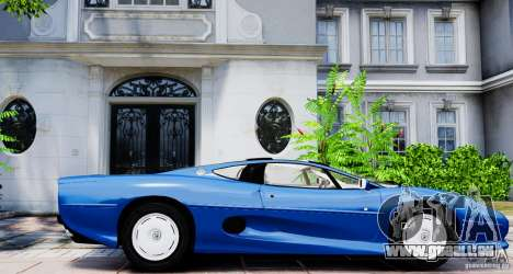 Jaguar XJ 220 für GTA 4 linke Ansicht