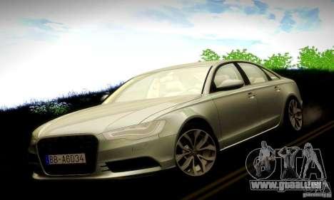 Audi A6 2012 pour GTA San Andreas