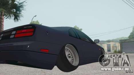 Nissan 300zx pour GTA San Andreas vue intérieure