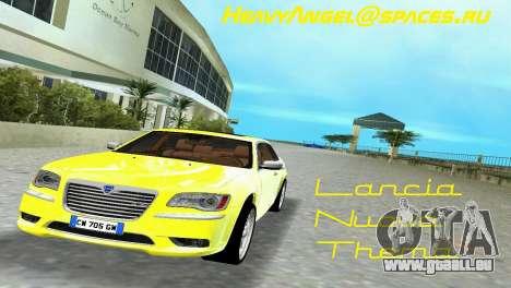 Lancia Nuova Thema für GTA Vice City