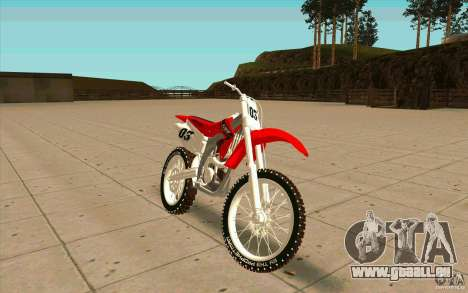 Honda CRF450R Extreme Edition FINAL pour GTA San Andreas