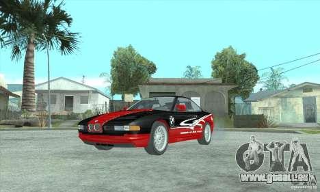 BMW 850i pour GTA San Andreas sur la vue arrière gauche