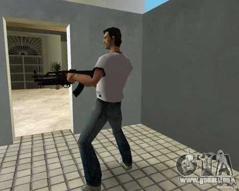 AK-47 mit Underbarrel Schrotflinte für GTA Vice City Screenshot her