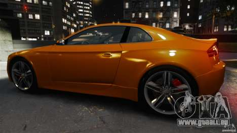 Audi S5 Conceptcar pour GTA 4 est une gauche