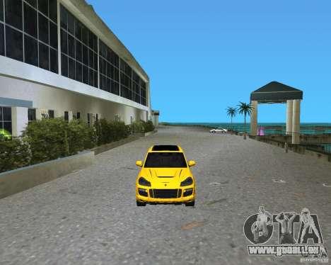2009 Porsche Cayenne Turbo pour une vue GTA Vice City de la gauche