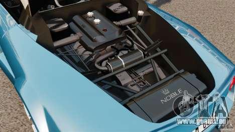 Noble M600 Bicolore 2010 für GTA 4 Innenansicht
