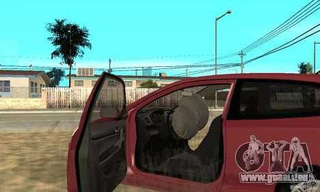 Honda Civic Type R - Stock + Airbags pour GTA San Andreas vue de côté