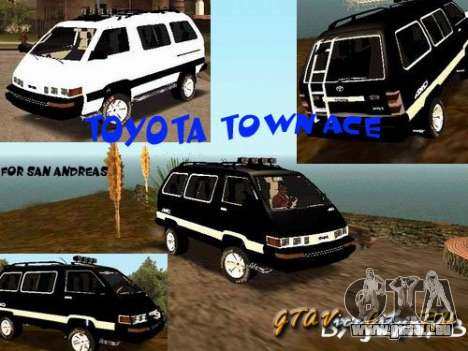 Toyota Town Ace pour GTA San Andreas