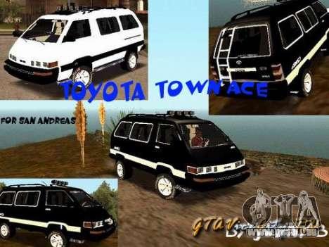 Toyota Town Ace für GTA San Andreas