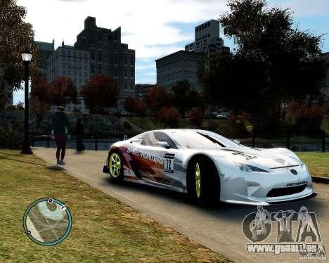 Lexus LFA Speedhunters Edition für GTA 4 Rückansicht