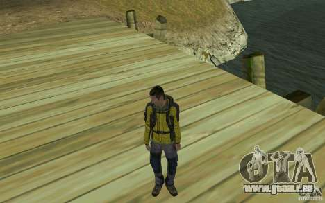 Backpacker HD Skin für GTA San Andreas dritten Screenshot